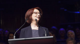Julia Gillard is back! With a very important message.