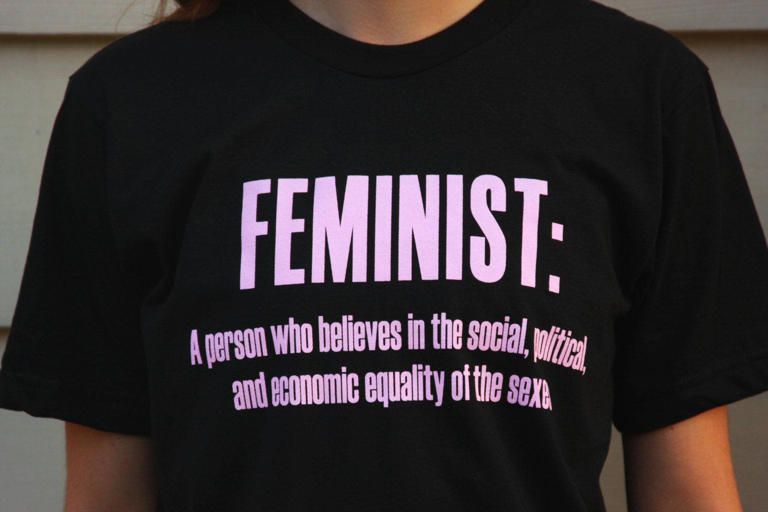 Feminism Symbol T-Shirt Patriarchy Equality Ladies Women Top Feminist T Shirt