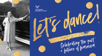 Fundraiser | Let's dance! Celebrating the past + future of feminism