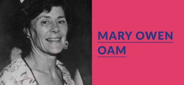 The wonderful Mary Owen