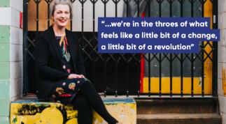 Briony O'Keeffe is a feminist teacher