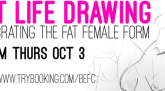 Fat Life Drawing: Celebrating the Fat Female Form