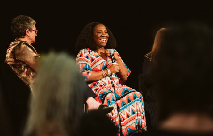 Tarana Burke, Founder of the Me Too Movement, live at the Collingwood Town Hall