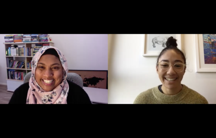 Feminist Fridays live with Rana Hussain + Darcy Vescio