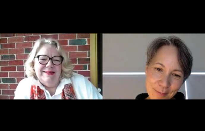 Feminist Fridays live with Alana Johnson AM + Gabrielle Chan