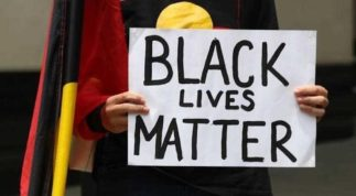 Black Lives Matter. Aboriginal Lives Matter.