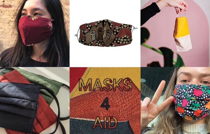 Masks that support local makers and give back to community