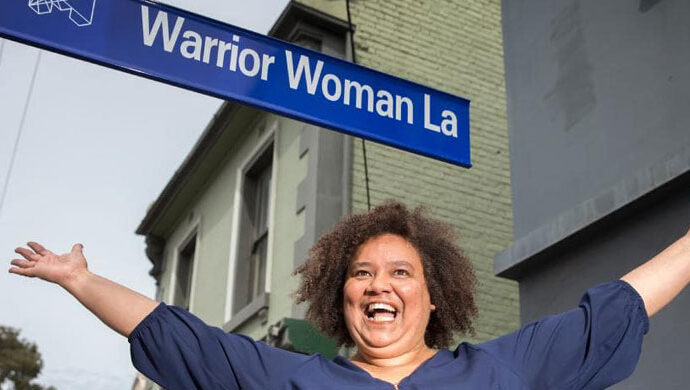 Warrior Woman Lane: Paying tribute to a fierce community leader