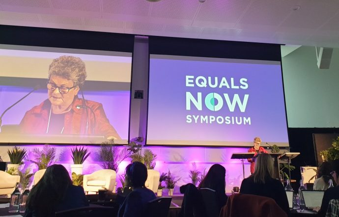 Equals Now—Share the Load, Share the Power, Share the Benefits: A Keynote